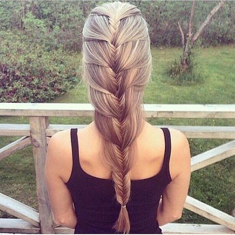 """Más inspirador peinados lisos Fotos de cortes de pelo tendencias - """"Penteado do dia 💗""""   Peinados lisos, Braided hairstyles ..."""