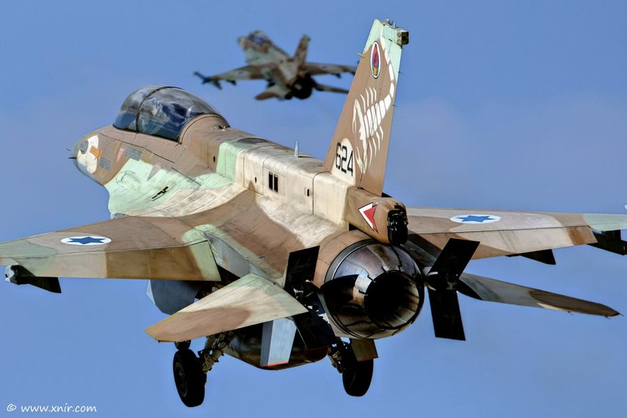 U.S.-Made F-35s Join Massive IDF Drill Simulating ... |Israeli Fighter Jets In Action