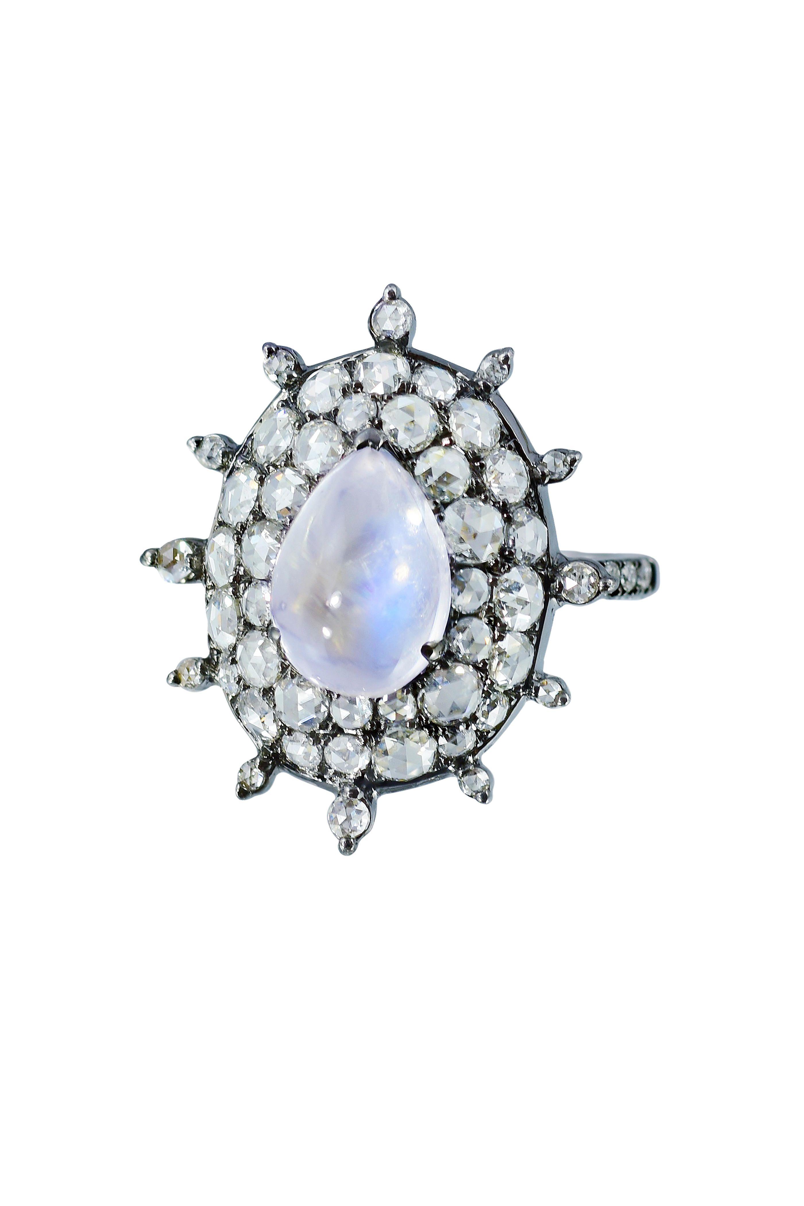 Bague En Diamant En Or Blanc 18 Carats Nam Cho uWPPtlgl