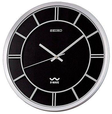 Seiko Qxr131klh 12 Clock Atomic Wall Clock Wall Clock