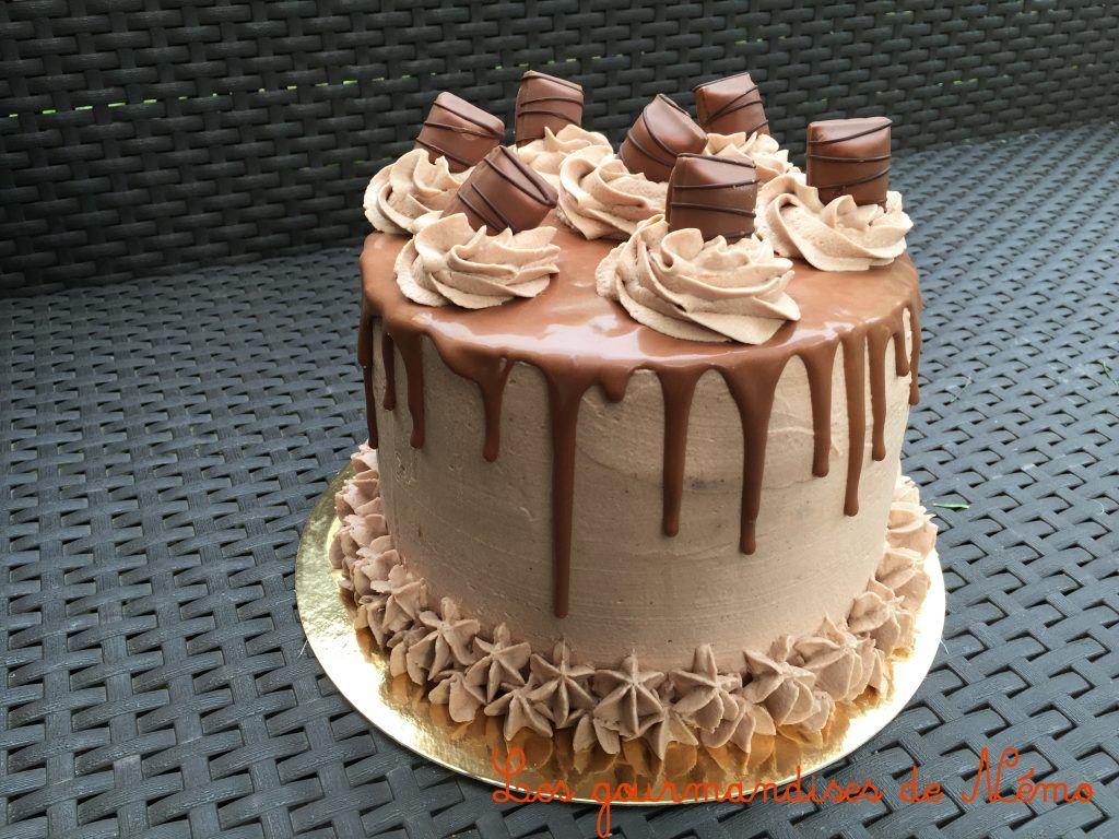Recette de layer cake que faire avec des kinder bueno layer cake aux kinder bueno layer cake - Gateau deco kinder ...