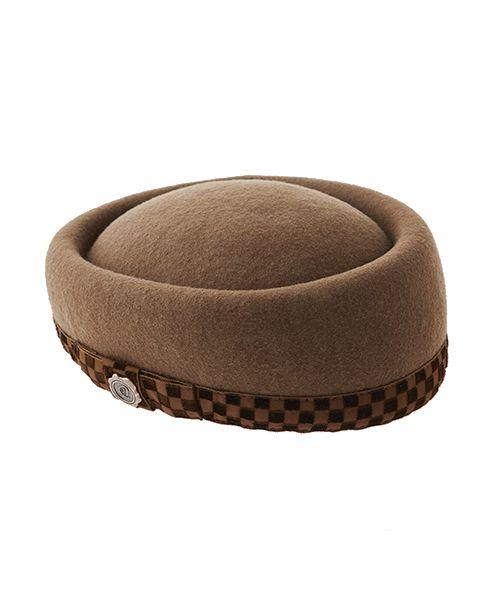 チョコレート ダブルトーク帽