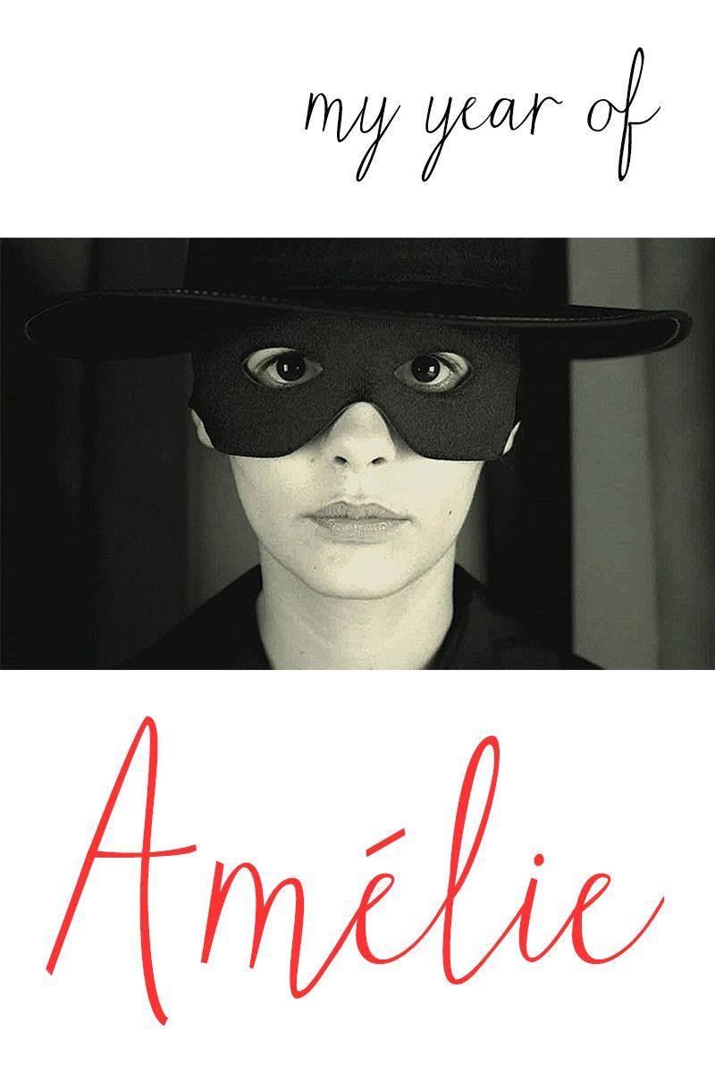 My Year of Amélie, Week 4: Masked Women Moodboard