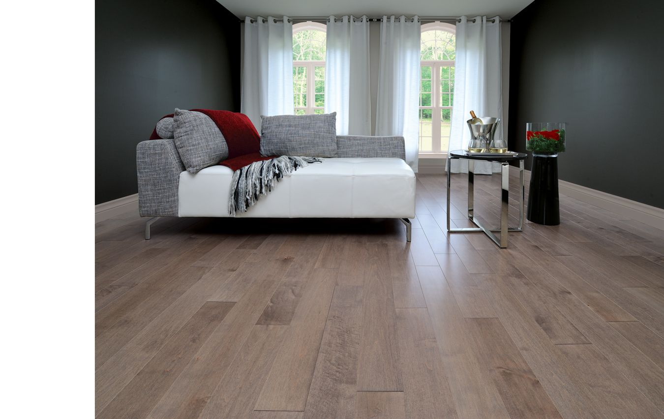 Herringbone, Maple Greystone - Mirage Hardwood Floors was in LC - Hardwood Flooring, Parquet, Medallions, Inlay & Borders, Molding