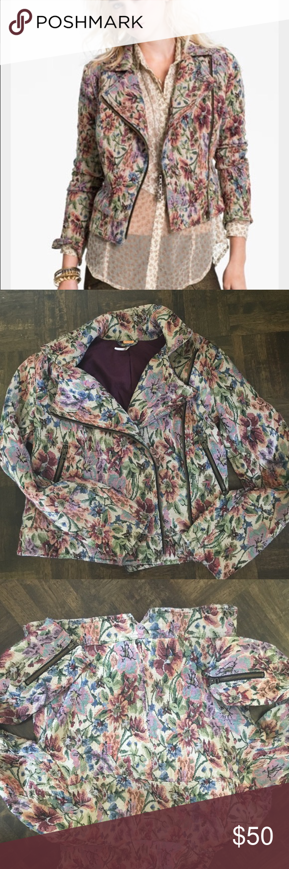 Free people jacket Brand new. Without tags. Only tried on. Size 8. True to size. Free People Jackets & Coats