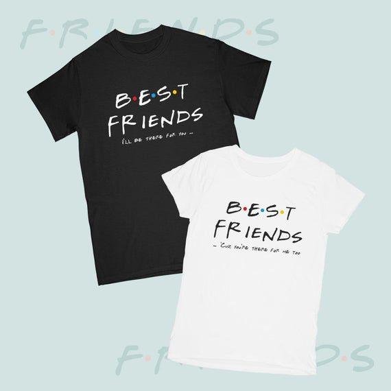 brand popular vânzare cu reduceri vânzare ieftină Couple T-shirts Best Friends Price for 1 tshirt T-shirts Friends ...