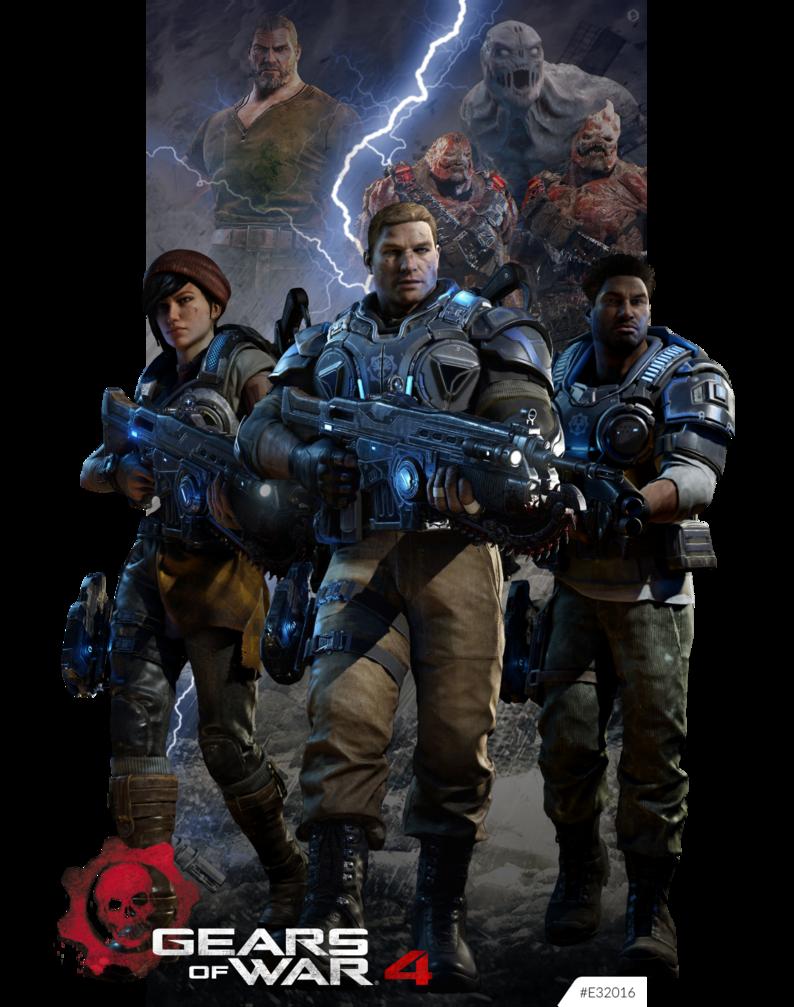 Gears Of War 4 E32016 By Kindratblack Deviantart Com On Deviantart Gears Of War Gears Of War 2 Gears Of War 3