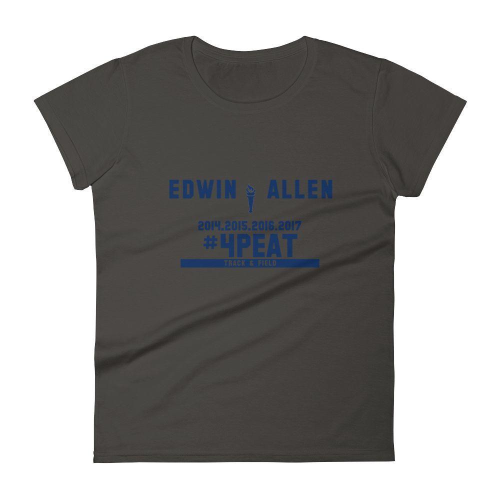 Edwin Allen 4-Peat Championship Women's T-Shirts