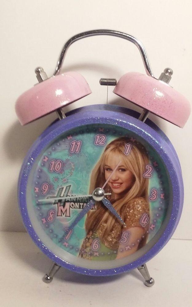 Hannah Montana Twin Bell Alarm Clock Glows In Dark eBay eBay - ebay küchenmöbel gebraucht