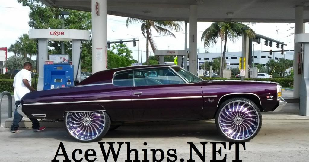 Ace Whips Donks Clean 72 Donk On 30 S Forgiatos Donk Cars