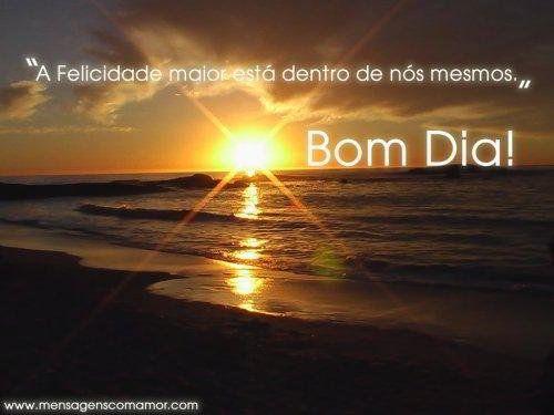 Bom Dia Sol: Por Do Sol, Nascer Do Sol E