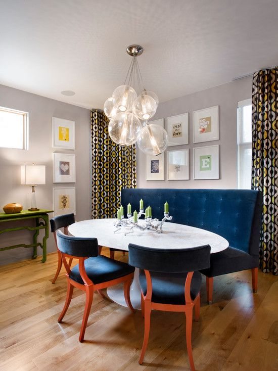 Banquette Style Seating For A Kitchen Curved Or Straight Oval