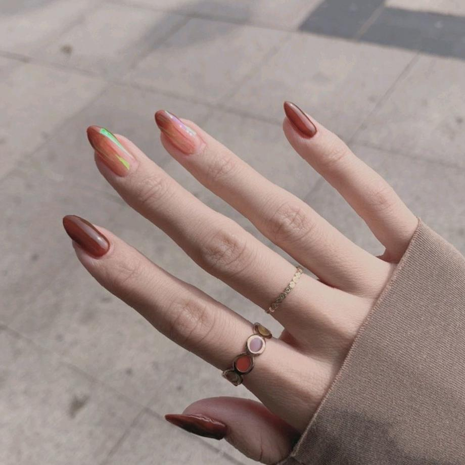 47 Hot Red Nail Design Ideas for New Year 2020 rednail