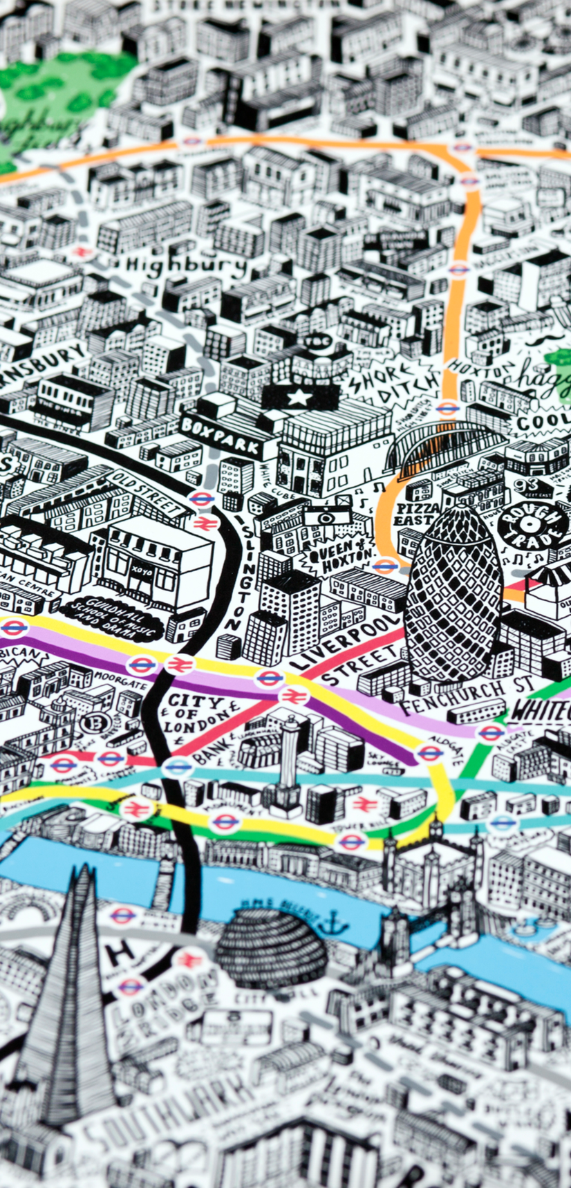 This Alternative London Underground Map Shows You What To See At ...