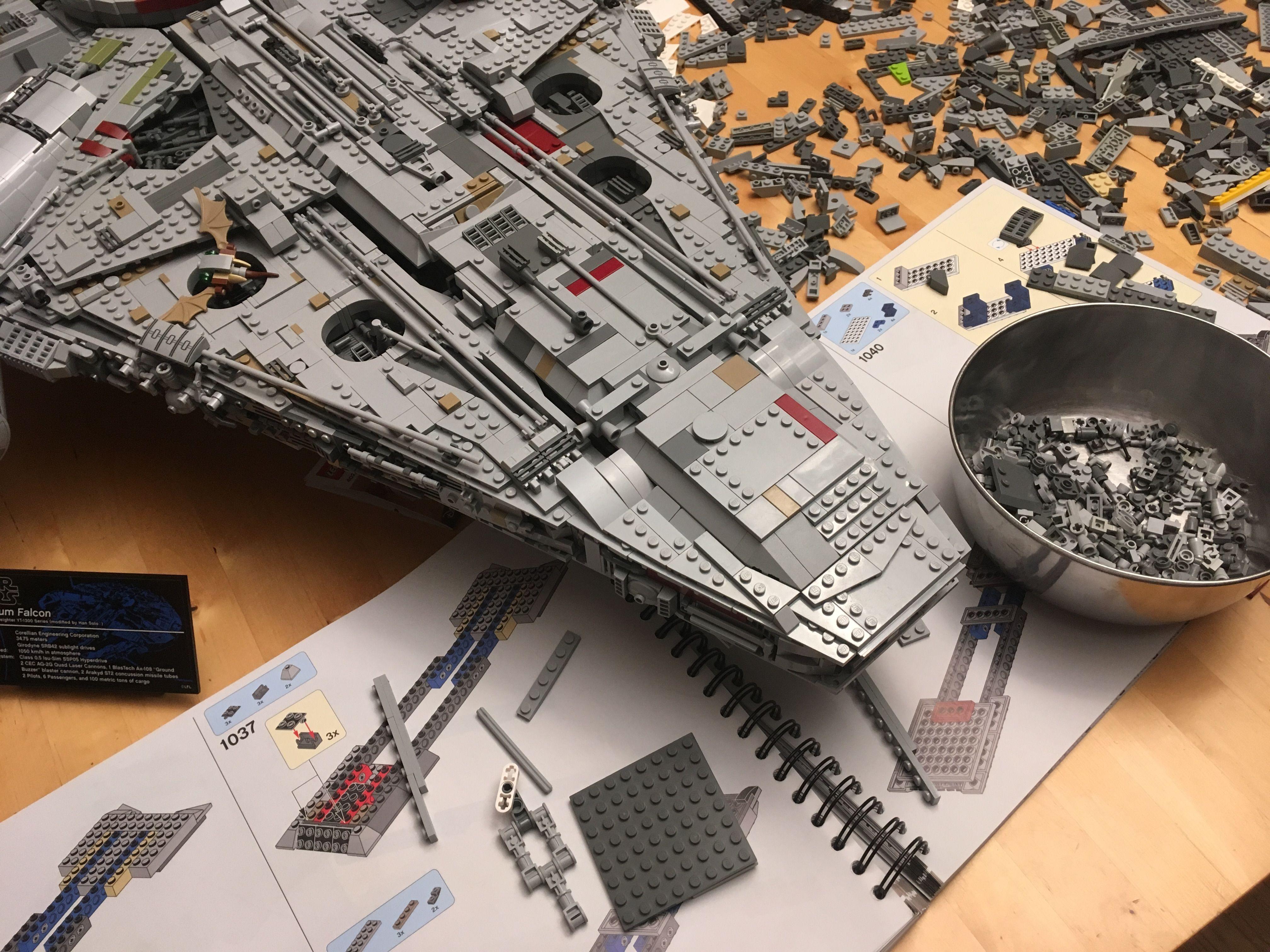 Ucs Millennium Falcon Escape Pod Love Of Lego Lego