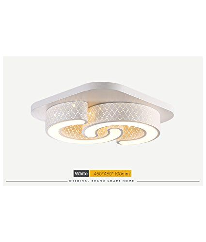 Style Home LED Wandleuchte Deckenleuchte Dimmbar Fernbedienung 6817  (6817 24W): Amazon.