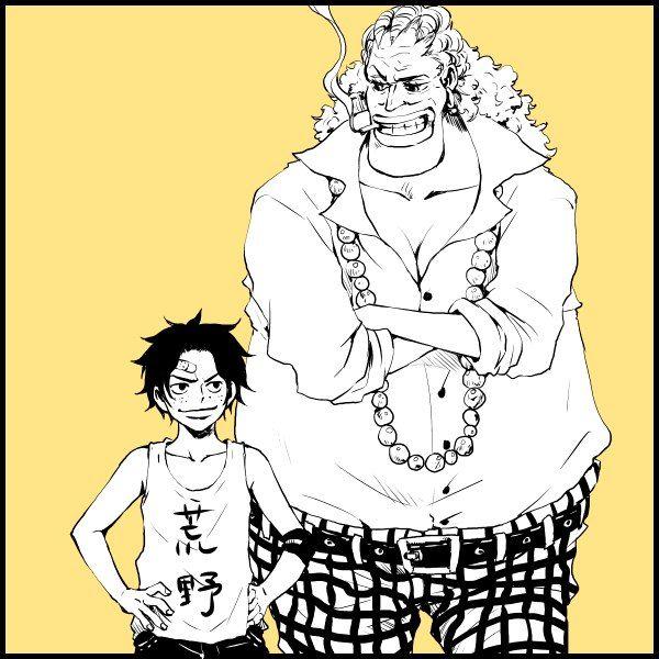One Piece, Portgas D. Ace, Dadan