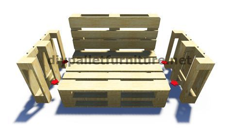Pallet Furniture Instructions Couch Here Are 20 Great DIY Patio Tutorials And Step By Guides That D I Y