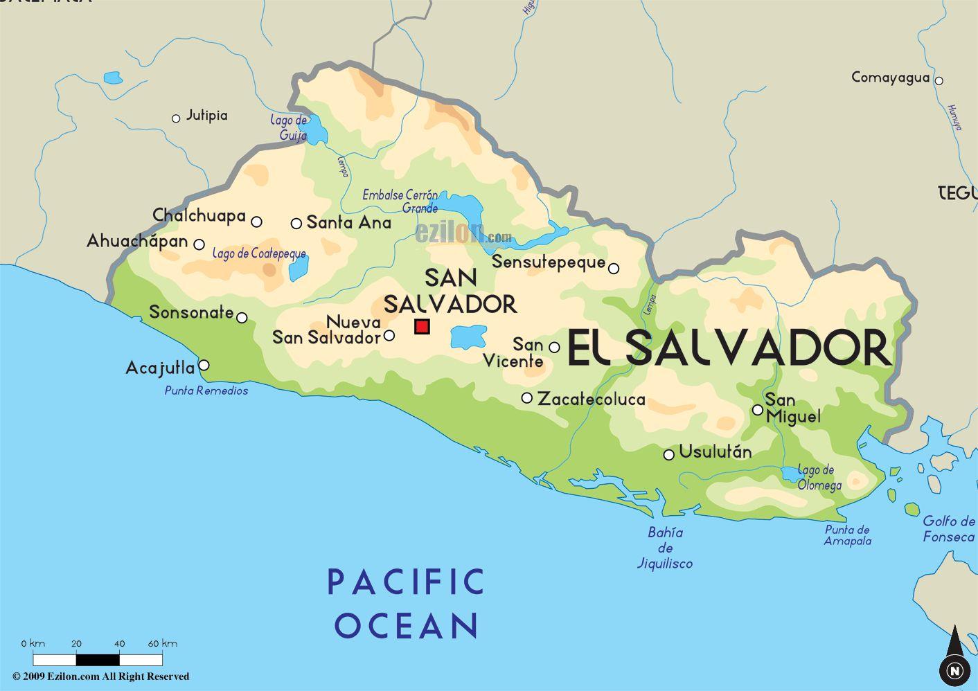 La mapa de El Salvador. El Salvador fue muy grande. | El ... Map De El Salvador on el gouna egypt map, de france map, de monaco map, el pueblo de los angeles map, tuxtla gutierrez mexico map, de florida map, el paraiso honduras map, el monte ca street map, el nido palawan philippines map, de israel map,