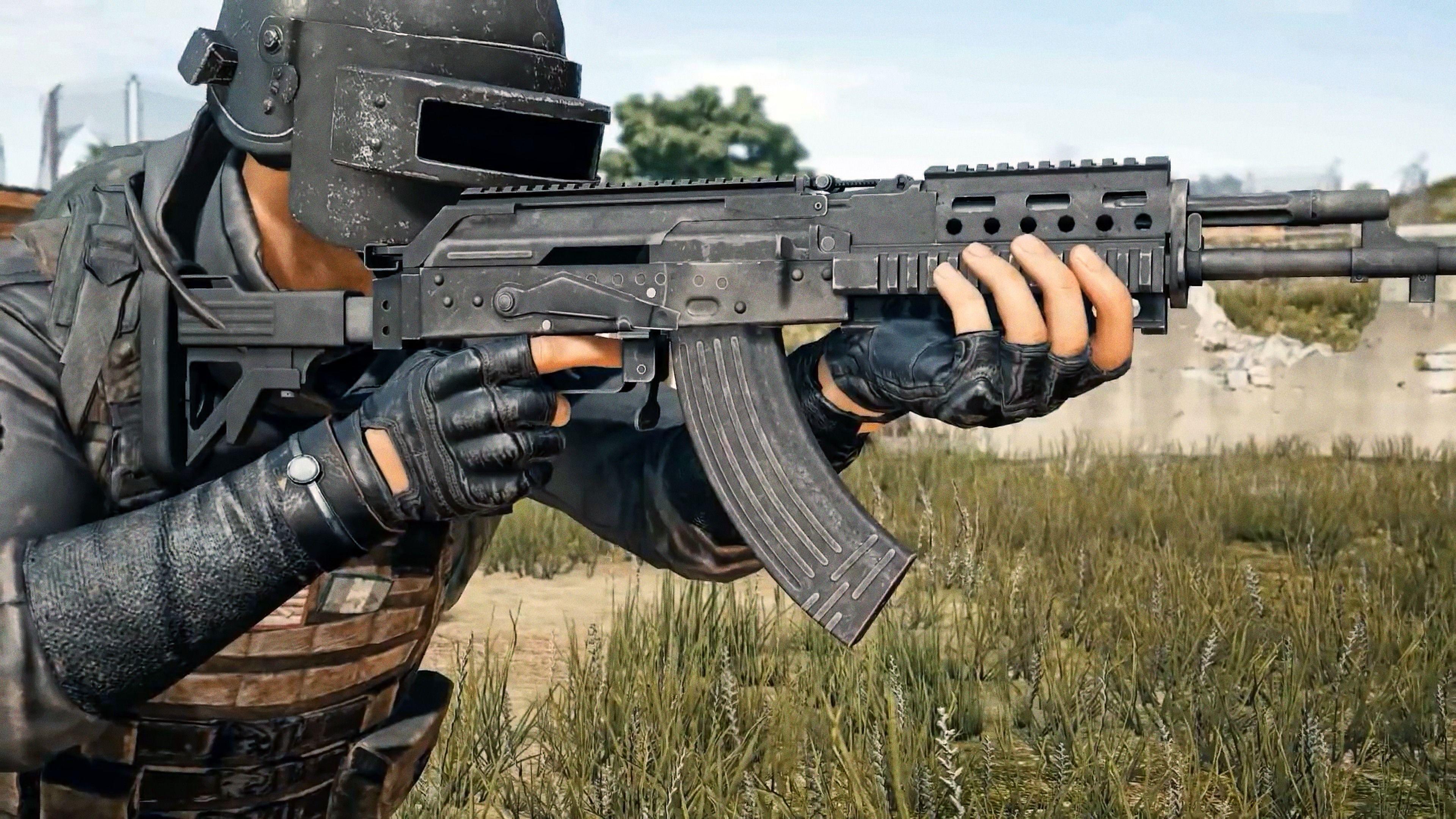 Wallpaper Pubg Video Games Playerunknown S: Beryl M762, Assault Rifle, PlayerUnknown's Battlegrounds