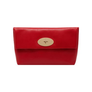 d357afdbe5 Mulberry+-+Clemmie+Clutch+in+Bright+Red+Shiny+Goat