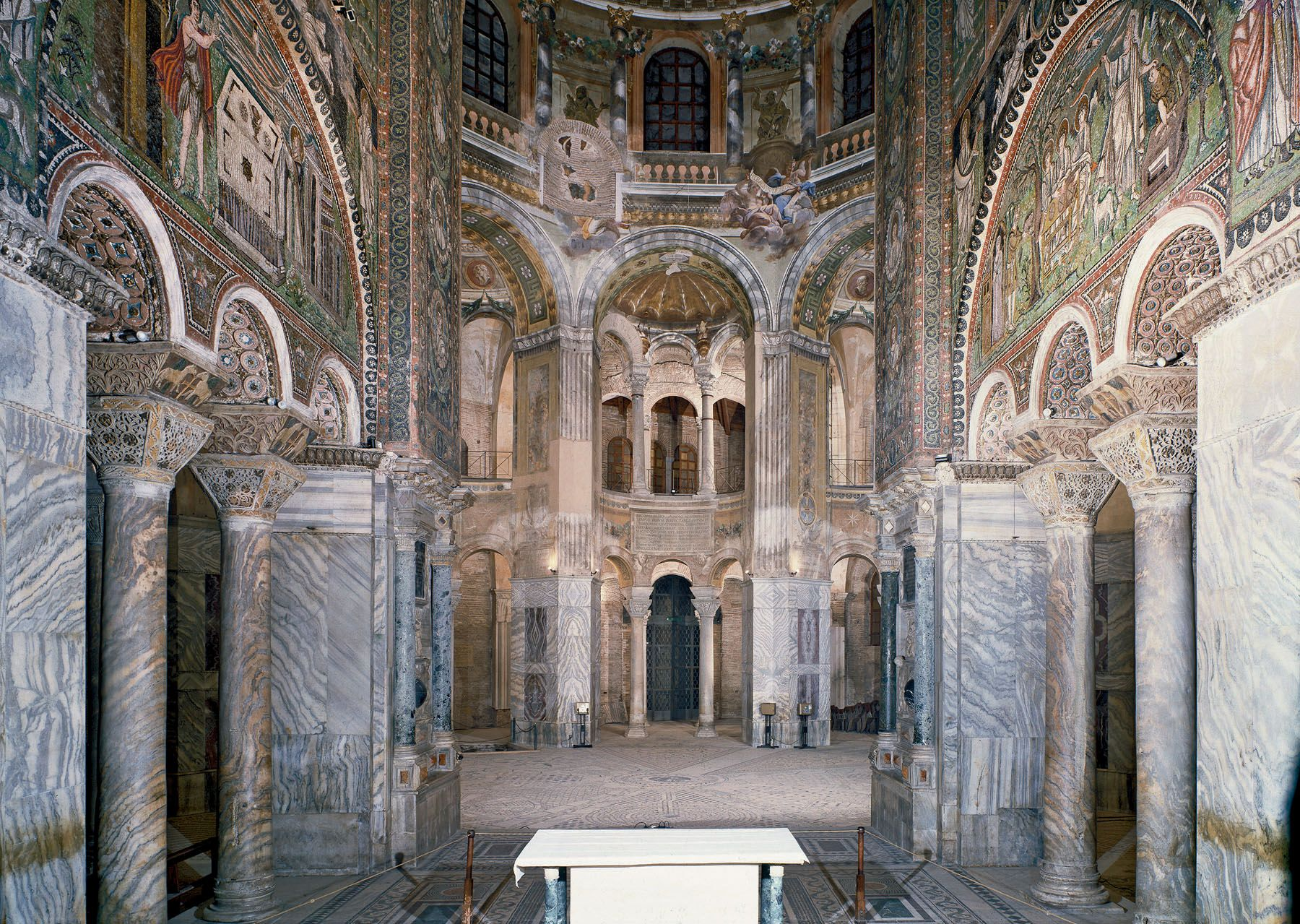 The San Vitale Basilica, Ravenna - Google Search | Early ...