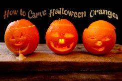 Jack O Lantern ~ Oranges!?