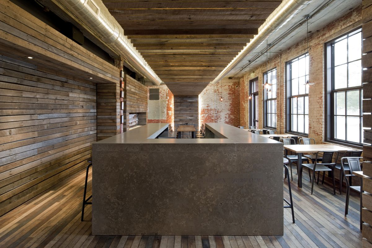 Journeyman Distillery Distillation Restaurant Interior