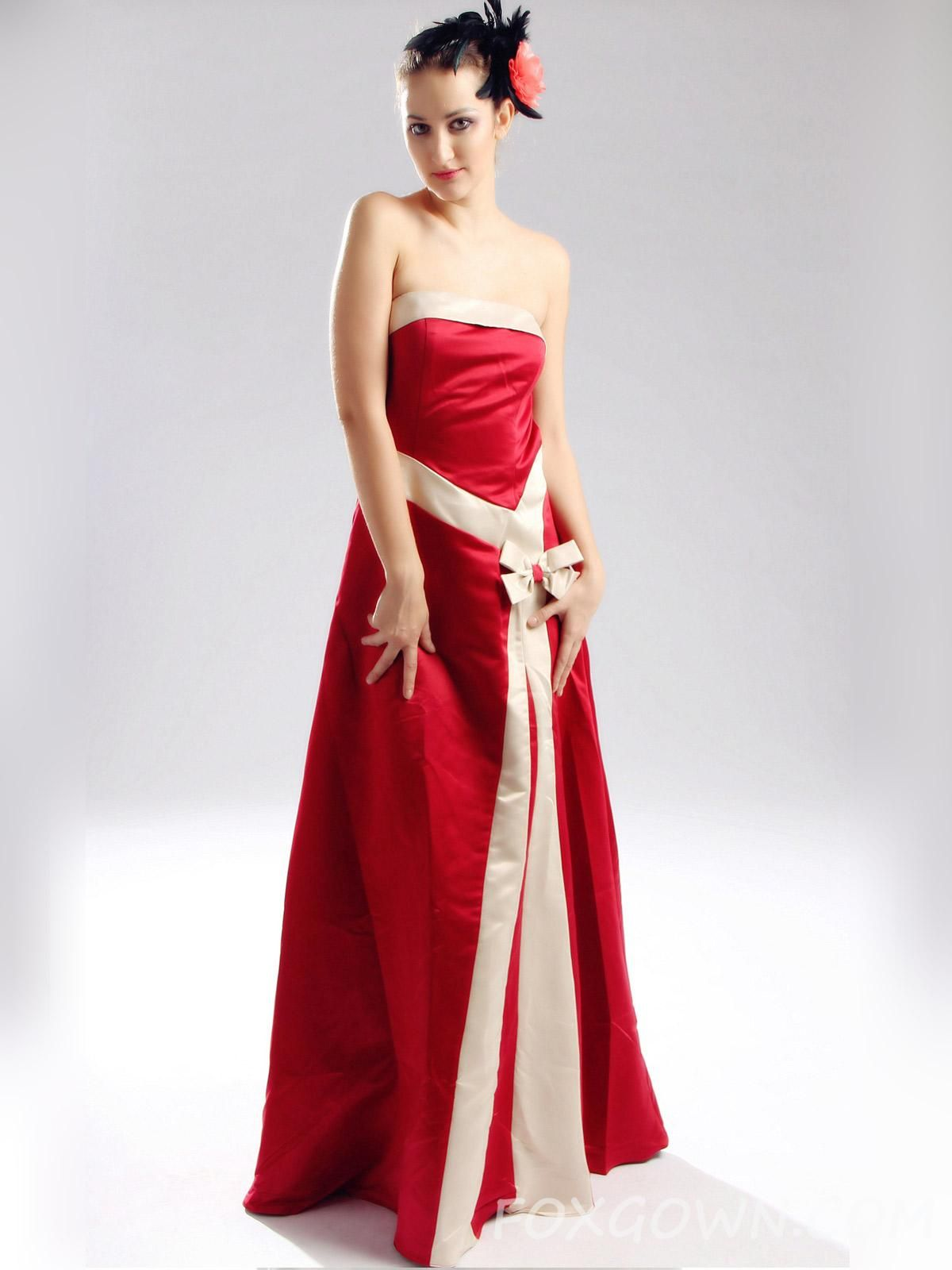 Gold And Red Bridesmaid Dresses - Ocodea.com