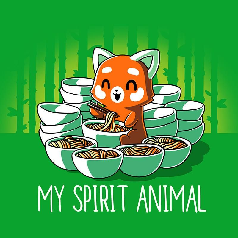 My Spirit Animal (Red Panda) | Cute cartoon