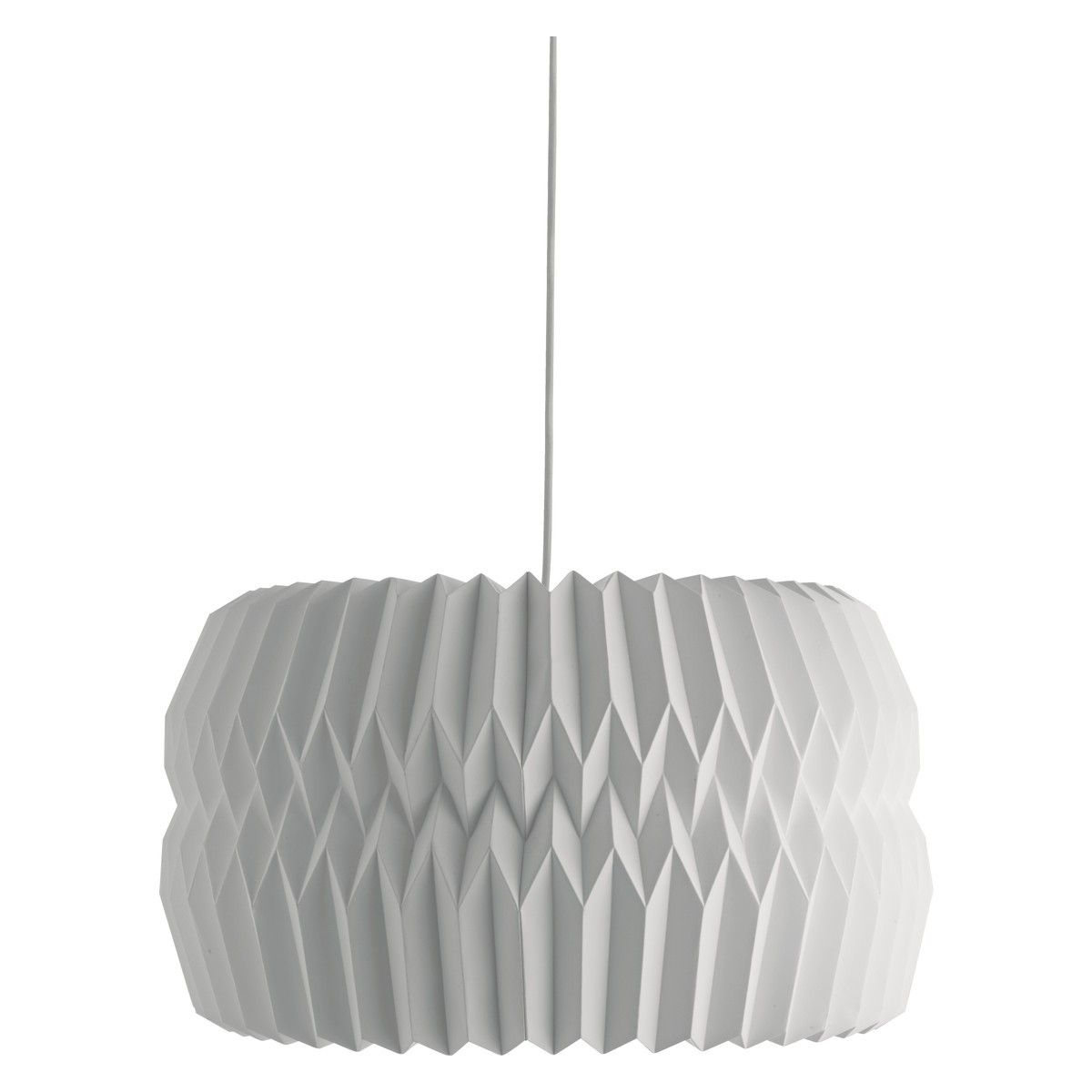 KURA Extra large white lampshade | Ceiling lamp shades, Large ...
