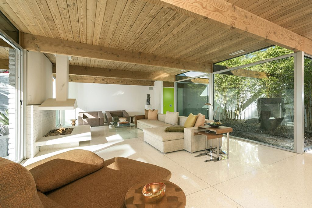 House Of The Week A Mid Century Modern Stripped To Pristine