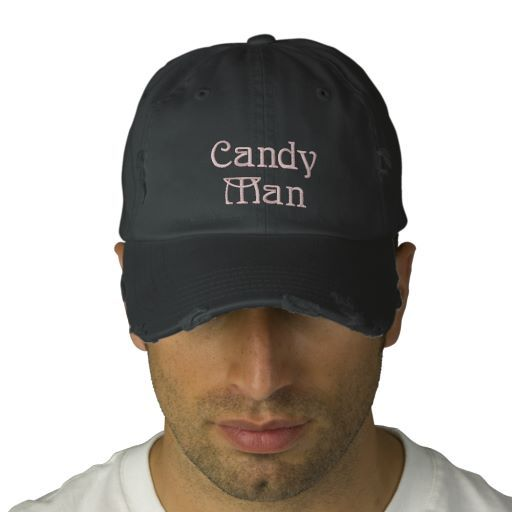 Candy Man Can Embroidered Cap Embroidered Hat