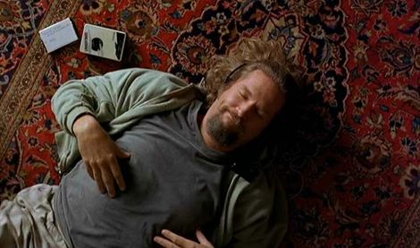 All The Dude wanted was a carpet. The Big Lebowski.