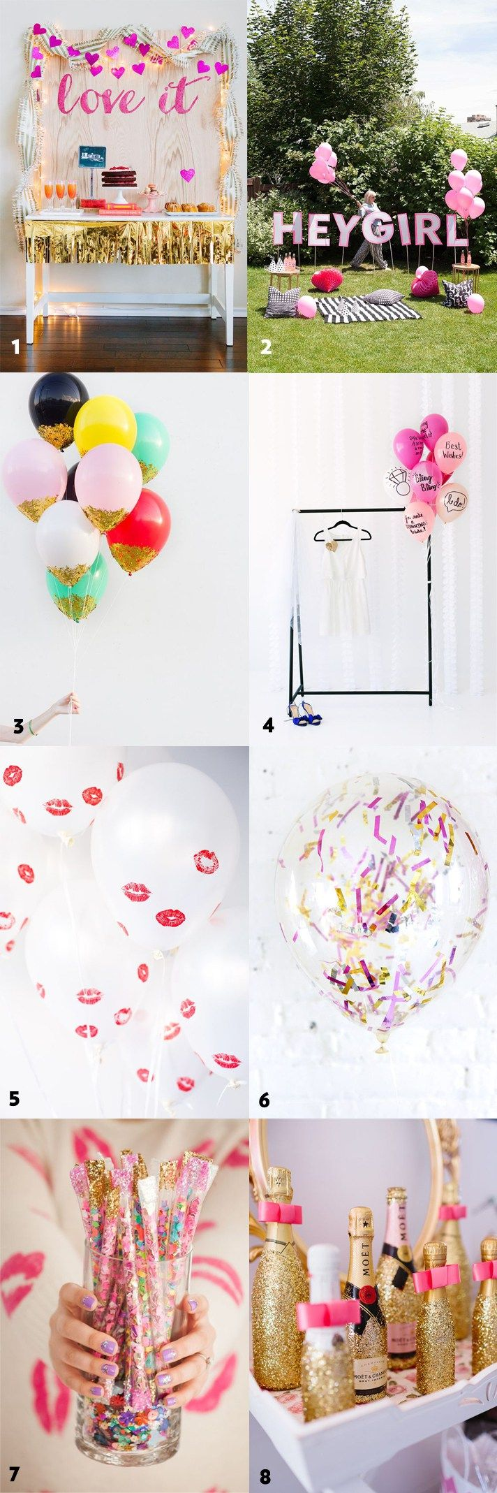 50 Simple and Stylish DIY Bridal Shower