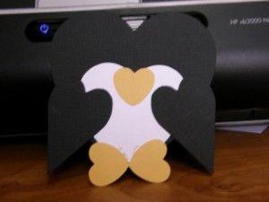 Penguin Valentine Kids Card