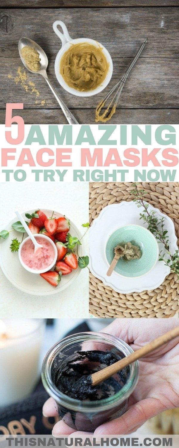 5+ Amazing Face Masks to Try Right Now