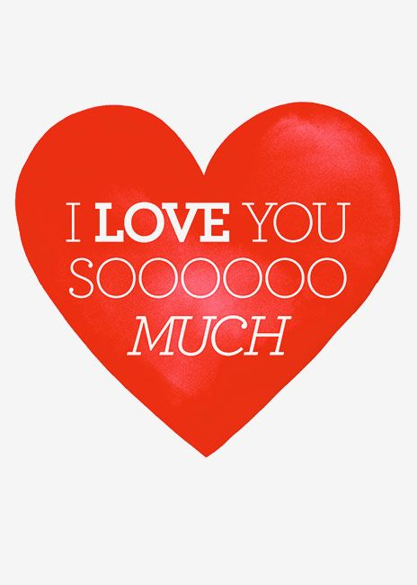 Margaret Berg Art: Red+Heart+LOVE+YOU+SOOOO+MUCH