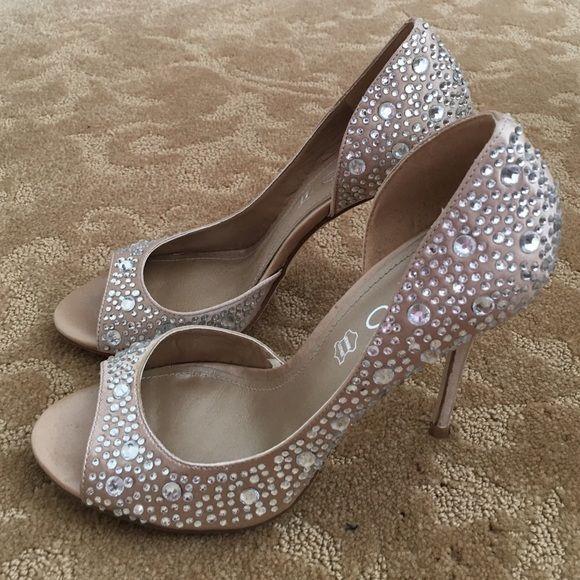 b677f4bec2a Aldo shoes New crystal studded open toe high heels ALDO Shoes Heels ...
