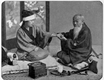 old photos of japan | Japanese Doctor Of The Old Style.