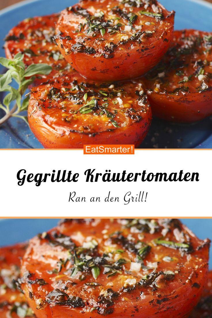 Gegrillte Kräutertomaten #vegetariangrilling