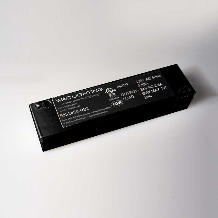 24v enclosed electronic remote transformer by wac lighting