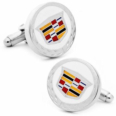 Cadillac Shield With Crest Logo Cufflinks