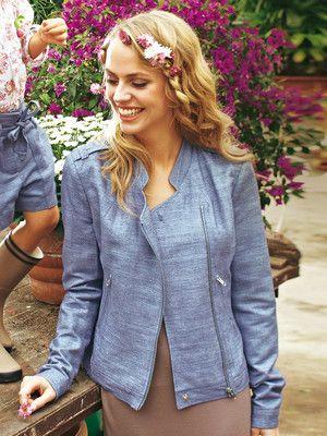 Biker jacket sewing pattern | Жакеты | Pinterest | Nähen, Kleidung ...