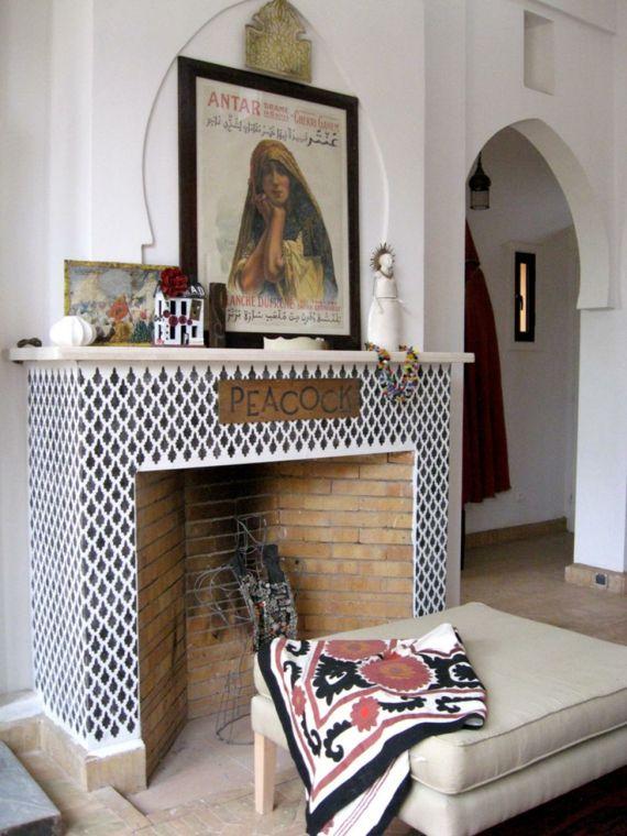 Kamin marokkanische   Wohnung   Pinterest   Marokkanisch ...