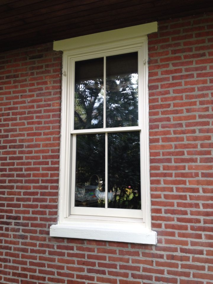 Pella Architect Series Replacement Window Installed In My 139 Year Old Brick Farmhouse Original