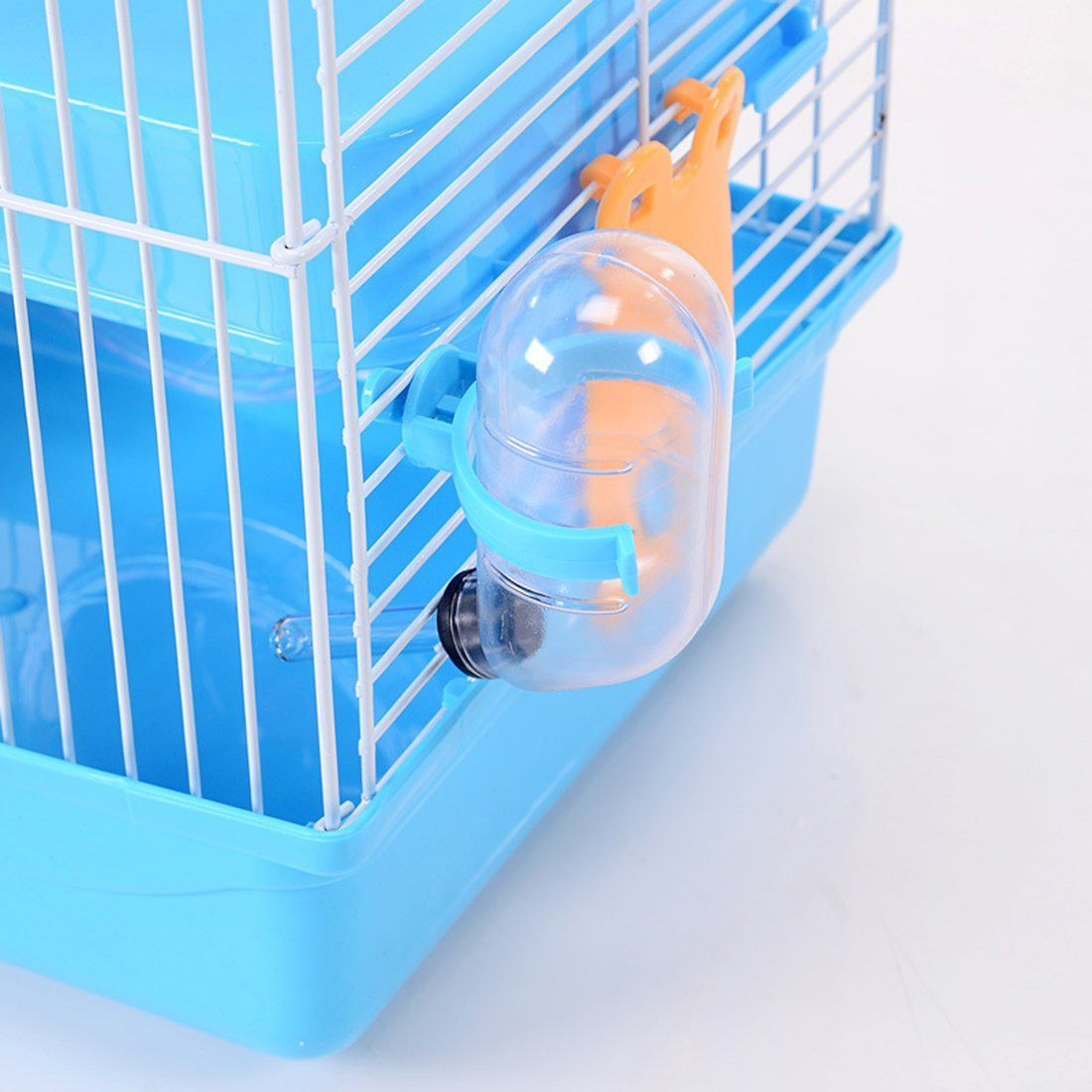 Jtengyao Hamster Mouse Hamster Cage Luxury Castle For Small Indoor Pet House Small Animal House Diy 3 Floor Cages 10 Small Animal Cage Small Pets Hamster Cage