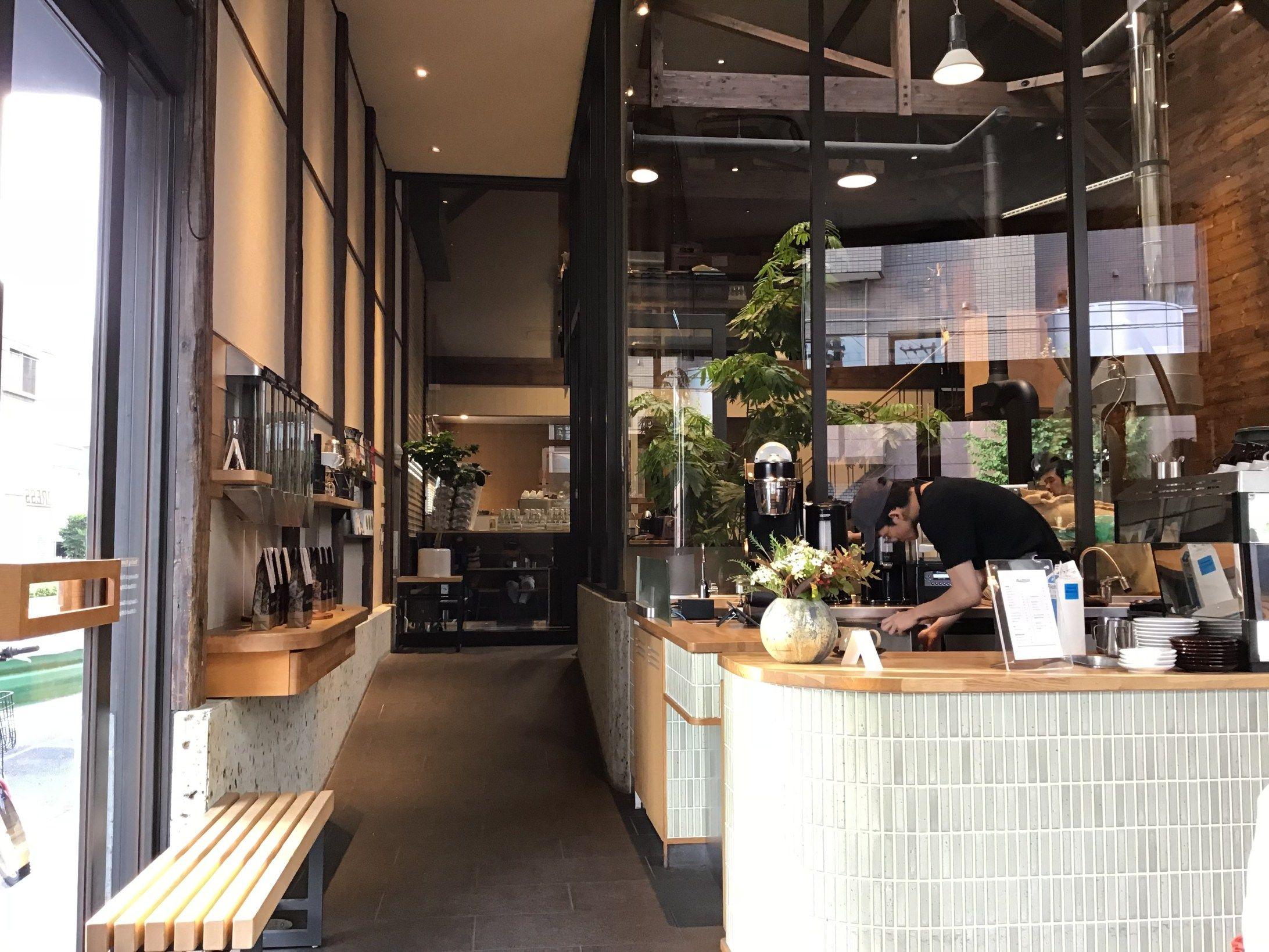 清澄白河でニュージーランド発コーヒーが楽しめるall Press Espresso