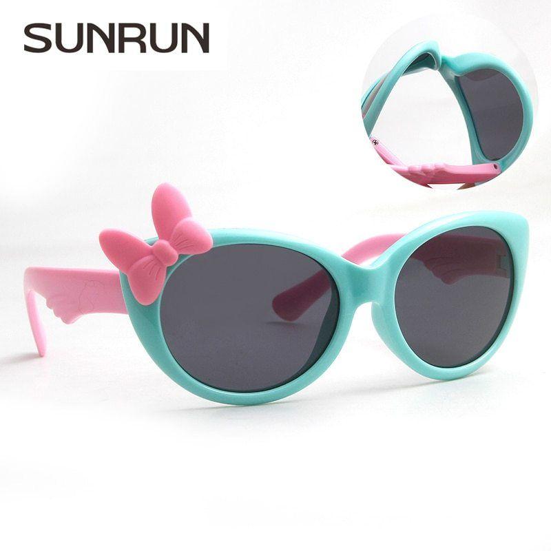 a6a4215ae2 Barato Sunrun nuevos niños gafas polarizadas bebé niños tr90 Marcos Gafas  de sol UV400 Boy Niñas