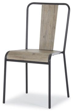 Brunel Industrial Modern Stacking Chair Set Of Three Industrial Dining Chairs Dining Chairs Industrial Dining Chairs Chair